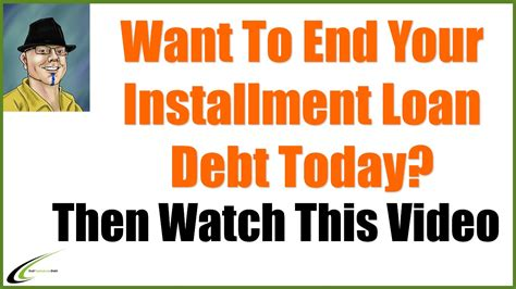 Payday Installment Loan Consolidation