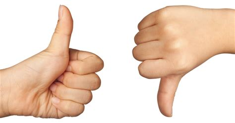 Image Thumbs Up Thumbs Up Or Arts And Crafts Educatall