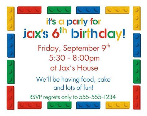 Birthday Invitation Template Boy Birthday Invitation Template Free Design Templates