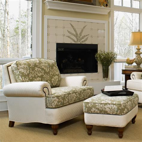 living room with ottoman perfect chairs with ottomans for living room homesfeed