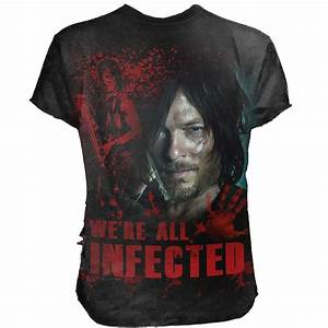 The Walking Dead Bettwäsche : the walking dead t shirt daryl all infected voodoomaniacs ~ Eleganceandgraceweddings.com Haus und Dekorationen