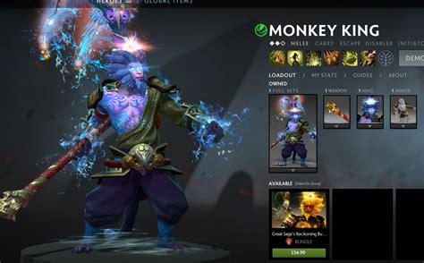 skin mod dota  monkey king great sages reckoning