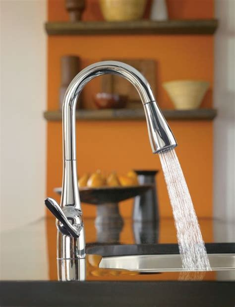 Moen Arbor Kitchen Faucet Stainless by Faucet Com 7594c In Chrome By Moen
