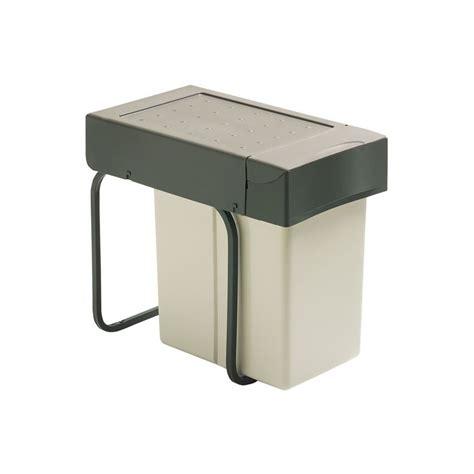 poubelles de cuisine encastrables poubelle sous évier 1 bac 20 litres