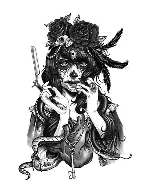 candy skull drawing tumblr