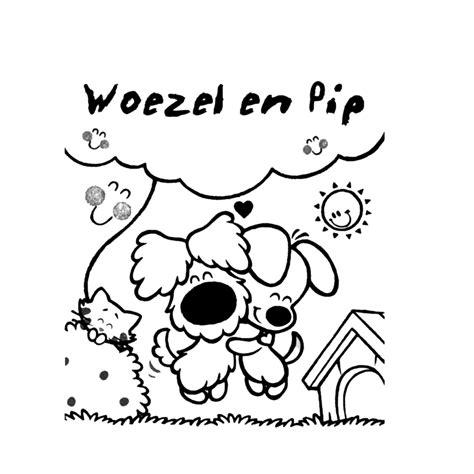 Woezel Pip Kleurplaat by Leuk Voor Woezel En Pip Zijn De Beste Vriendjes