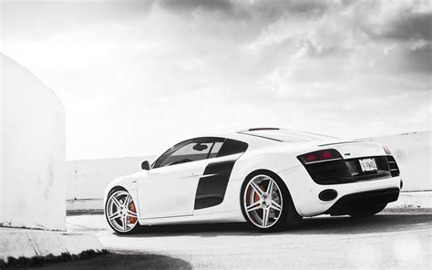 White Cars Audi Vehicles Wheels Audi R8 Bags Sports Cars