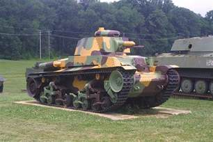 WWII Japanese Tank