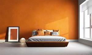 Wandfarben Schlafzimmer Ideen : tapeten mehr 12 ideen zur wandgestaltung im schlafzimmer ~ Orissabook.com Haus und Dekorationen
