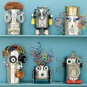 Roboter Selber Bauen Für Anfänger : was f r eine kreative idee kleine roboter aus alten dosen bauen cool januar 2013 ~ Watch28wear.com Haus und Dekorationen