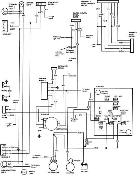 1981 Gmc Fuse Box Diagram by Diagrams Wiring 87 K5 Blazer Parts Best Free Wiring