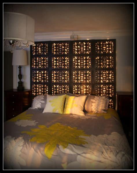 diy headboard with lights 40 trendy headboard design ideas ultimate home ideas