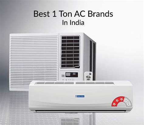 5 Best 1 Ton Ac Brands In India  Complete Guide Cashkaro