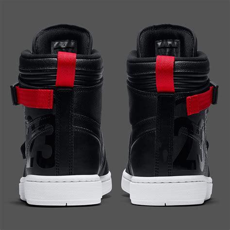 air jordan  moto black red   sneakernewscom