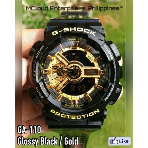 G Shock Ga 110 Gold Series casio g shock ga 110 premium replica shopee philippines