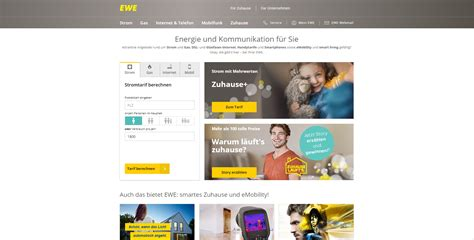 Ewe Tel Tarife by Alternativen Zu Ewe Internetprovider Die Besten Ewe