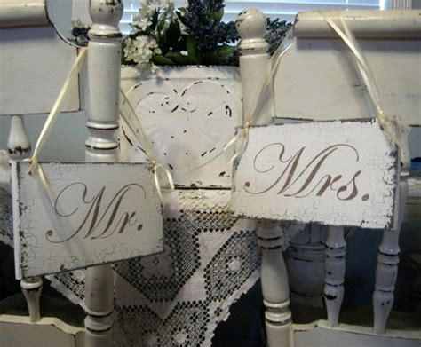mr mrs chair signs project wedding forums