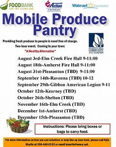 Mobile food pantry nebraska for Mobile food pantry nebraska