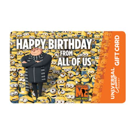 wdw store universal collectible gift card gru