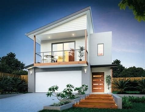 model rumah minimalis  lantai  atap skillion