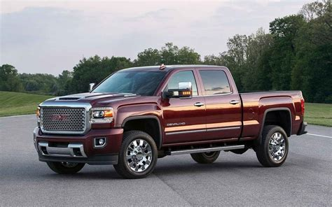 2018 Gmc Sierra Denali 2500hd Redesign  New Concept Cars