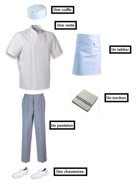 tenue de cuisine la tenue du pâtissier en cuisine recettes