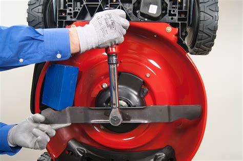 replace  drive belt   lawn mower repair