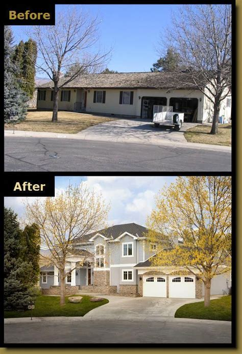 before after remodeling picture haylett homes someone