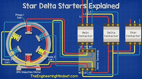 Star Delta Starters Explained The Engineering Mindset