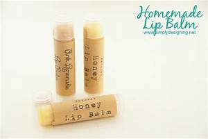 homemade lip balm With how to make lip balm labels