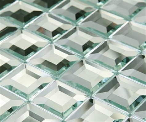 Mirror Tiles 12x12 Menards by Mirror Glass Mosaic Tile Glass Mosaic Mirror Tiles