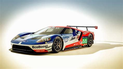 Ford Gt Race Car 2016 Wallpaper