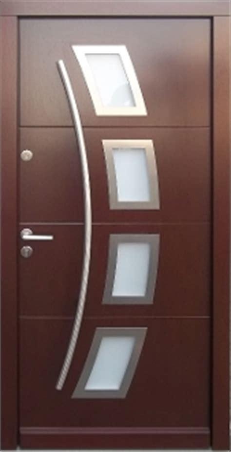 model  modern  stock wenge finish wood exterior door