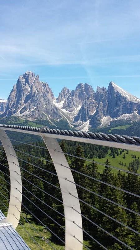 la terrazza ortisei nuova terrazza panoramica per la cabinovia ortisei alpe