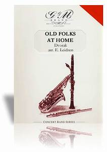 3 Horn Jazz Charts Old Folks At Home Dvorak C Alan Publications