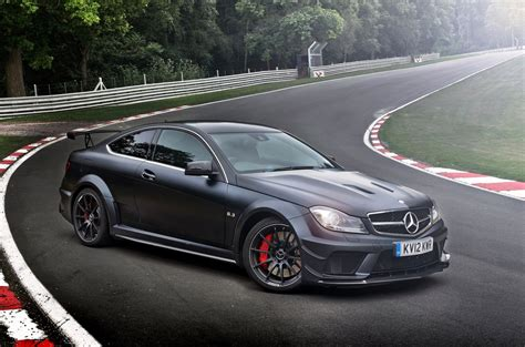Outstanding suitability for everyday use and palpably more dynamics. Mercedes-Benz C 63 AMG Coupe Black Series Aerodynamic Pack ...