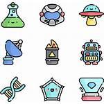 Science Icons Icon Fiction Noodle Transparent Clipart