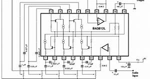 Circuit Diagram  Five Band Graphic Equalizer
