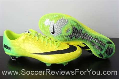 nike mercurial vapor ix fg speed control review soccer