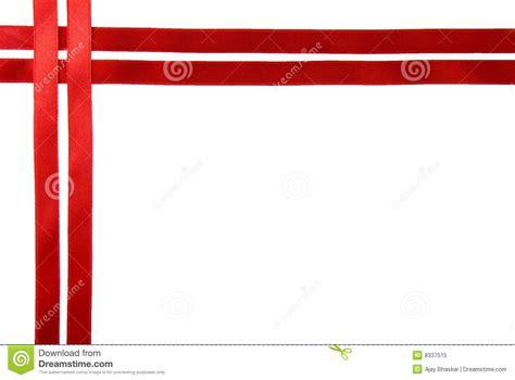 red ribbon border royalty  stock photo image