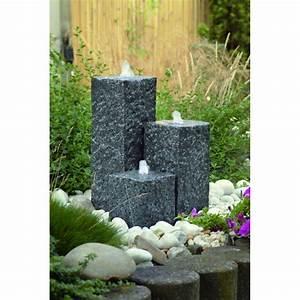 Fontaine De Jardin Jardiland : 3 colonnes compose cette fontaine de jardin siena ubbink ~ Melissatoandfro.com Idées de Décoration