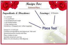 recipes cards     home images recipe