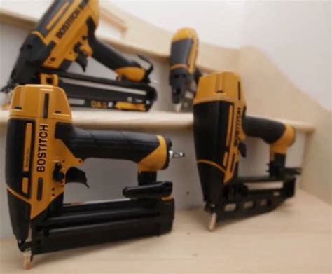 Manual Floor Nailer Vs Pneumatic by Bostitch Releases New Smart Point Finish Brad Nailers