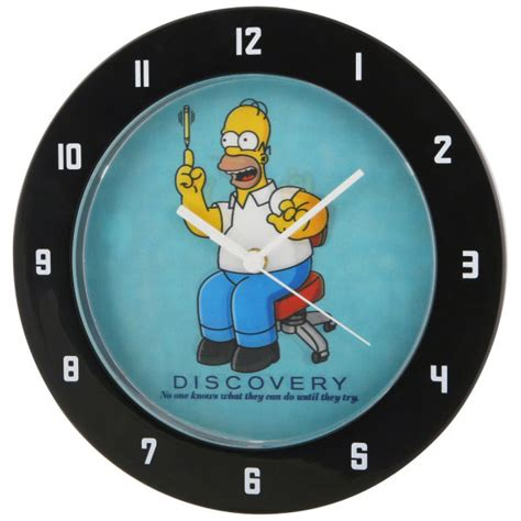 homer simpson lenticular lens wall clock iwoot