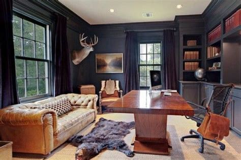 Man Cave Ideas  Office  Masculine Home Offices, Home