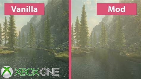 skyrim xbox  visual overhaul  vanilla graphics mod