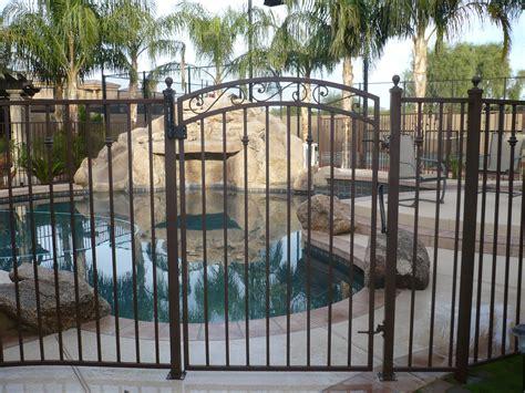 Wrought Iron Pool Fence
