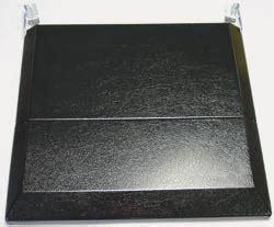 RV Gas Range Bi fold Cover Black   RV Parts Country