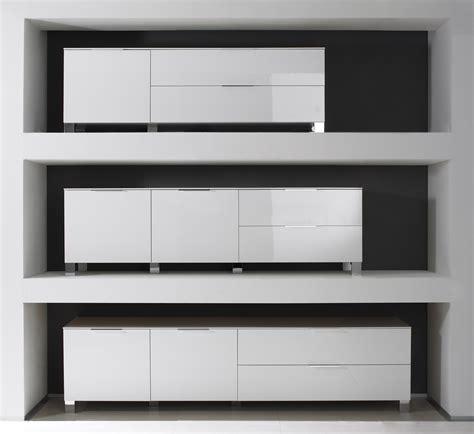 cuisine moderne noir et blanc meuble bas