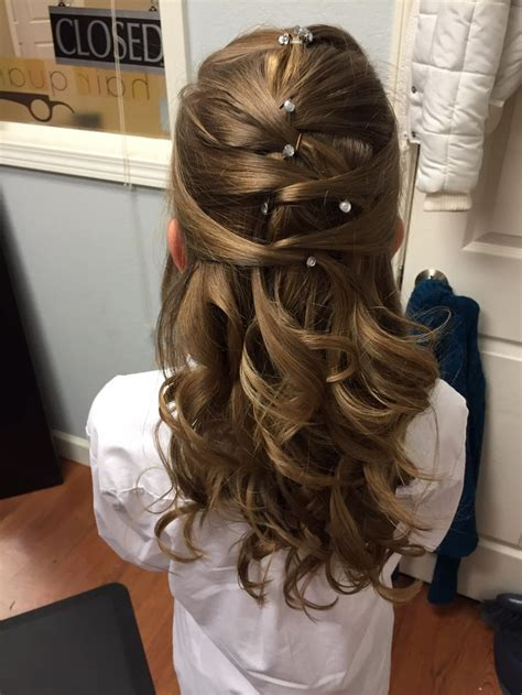pretty hair for the daddy daughter dance hairstyles